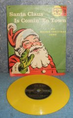 Record 78 RPM - Santa Claus is Coming to Town B4960