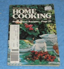 Cookbook - Women's Circle Home Cooking June 1977  B5857