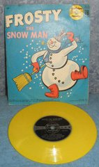 Record 78 RPM - Frosty the Snowman B4953