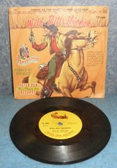 Record 78 RPM - Songs of The West B4957