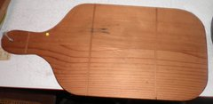 Cutting Board, Wood B1551