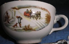 Coffee Cup - Currier And Ivies B4642