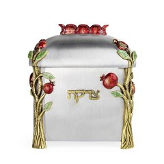 Quest - Pomegranate Tzedakah Box
