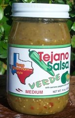 Tejano Salsa Verde Medium - 16 oz.