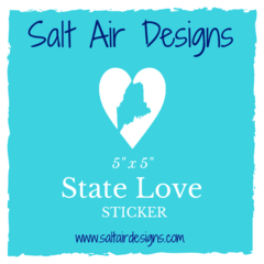 State Love Sticker