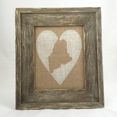 State Love - Burlap Collection