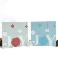 Joy with Bulbs - 8x8
