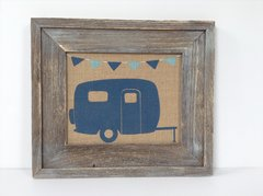 Retro Camper - Burlap Collection