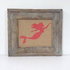 Mermaid - Burlap Collection
