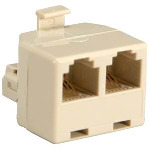 RJ45 Splitter - Male to 2x Female