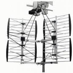 Focus Best -8HD-90D Adjustable 8 Bay Multidirectional (65+ mi/105+ km) HDTV UHF AntennaOutdoor HD TV Antenna