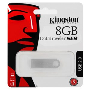Kingston Datatravel SE9 8GB USB Metal Flash Drive