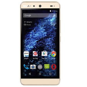 BLU ENERGY X Smartphone - W/4000 mAh Super Battery - GSM Unlocked Gold