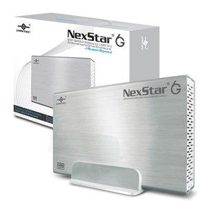 """Vantec NexStar 6G 3.5"""" SATA III 6 Gb/s to USB 3.0 Silver Enclosure"""