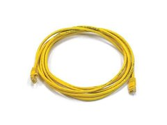 CAT5e RJ45 10/100 Straight/Patch Network Cable Yellow - 10 Ft.