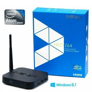 MINIX NEO Z64W Fanless Mini PC Windows 8.1