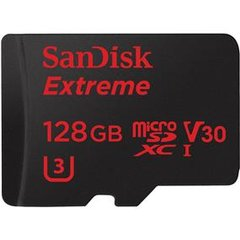 SanDisk Extreme 128GB microSDXC Class 10 UHS-I Flash Card - Up To 90 MB/s Read, 60 MB/s Write (SDSQXVF-128G-CN6MA)