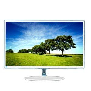 """Samsung 23.6"""" S24D360HL PLS LED Monitor - White"""