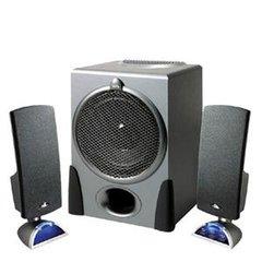 Cyber Acoustics Platinum CA-3550RB 2.1 Speaker System - 68 W RMS