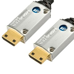 Monster SuperThin™ High Speed Powered Cable, HDMI to HDMI - 8 Feet