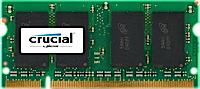 Crucial 2GB DDR2 PC2-6400 SODIMM CT256664AC800