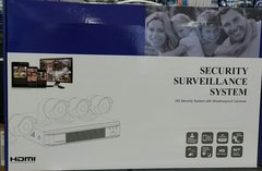 4 CHANNEL 1080P DVR WITH 4 HD1080P BULLET CAMERAS ALL IN ONE KIT WITH 4 X 50FT CABLE + POWER ADAPTER INCLUDED KIT BULLET HD4 NO HARD DRIVE