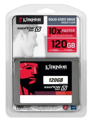 """Kingston SSDNow V300 Series 120GB 2.5"""" SATAIII SSD SV300S37A/120G"""