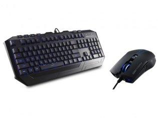 Cooler Master CM Storm Devastator MS2K & MB24 Wired Backlighting Gaming Keyboard and Mouse Combo (Blue LED)
