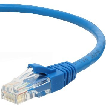 CAT5e RJ45 10/100 Straight/Patch Network Cable - 1 Ft.