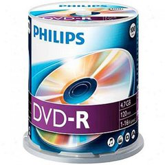 Philips 16X DVD-R 100pcs Spindle