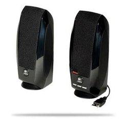Logitech S-150 2.0 Speaker System - 1.2 W RMS - Black 90 Hz - 20 kHz - USB