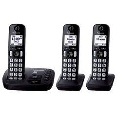 Panasonic® KX-TG443CSK DECT 6.0 Digital Phone System - Refurbished