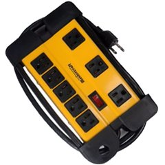 Mastercraft Contractor 8 Outlets Power Bar