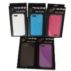 IPhone 6/6S Selfie Case w/LED Light + Wiide Angle Len - Purple