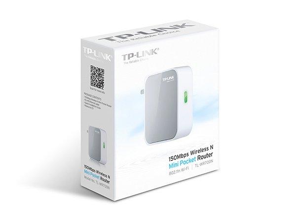 TP-LINK TL-WR700N 150Mbps Wireless N Mini Pocket Router