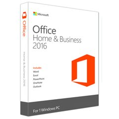 Microsoft Office Home and Business 2016 (Medialess)