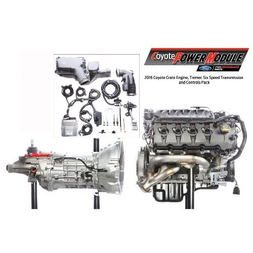 coyote power module 6 speed manual transmission  m