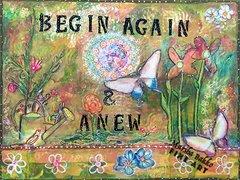 BEGIN AGAIN & ANEW