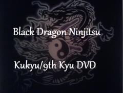 9th Kyu Video Black Dragon Ninjitsu Home Study Course