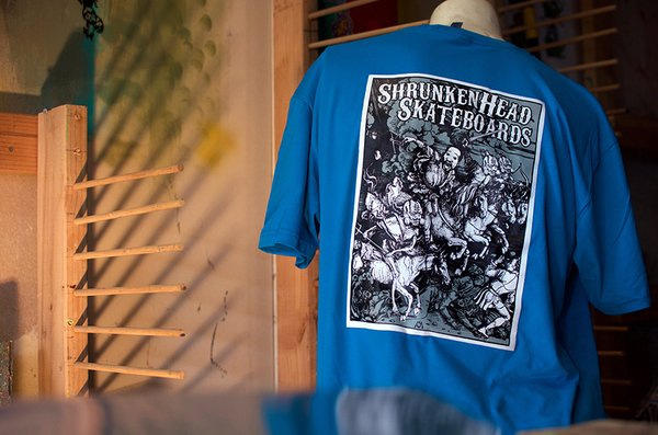 "Shrunken Head ""Four Horsemen"" Tee"