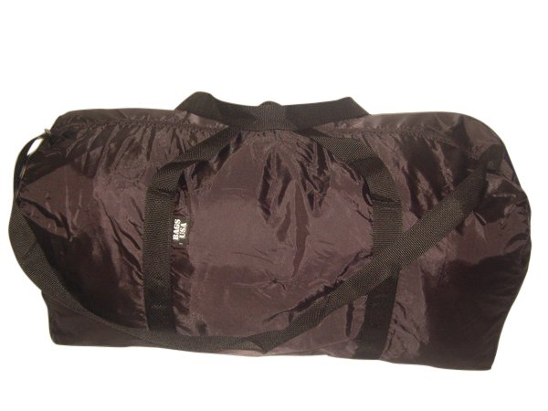 Extra Large Duffle Bag stowaway packable Light weight duffle Made in USA