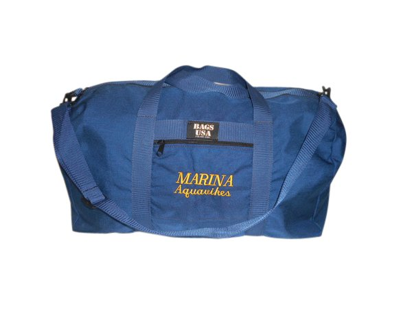 Swim bag, Carry on size wet and dry bag Made in USA.