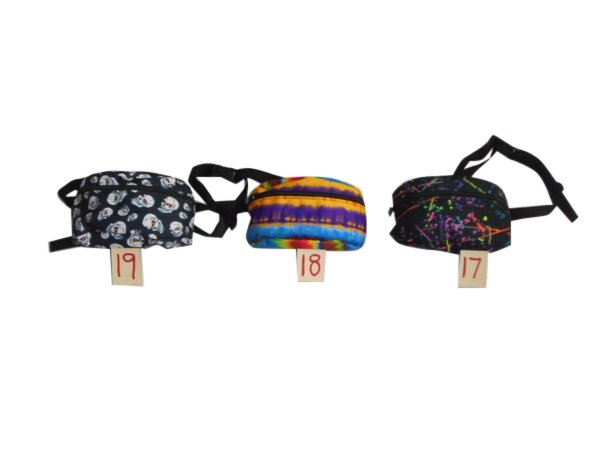 Fanny pack or waist bag or belly bag 1 size fits all Made in USA.