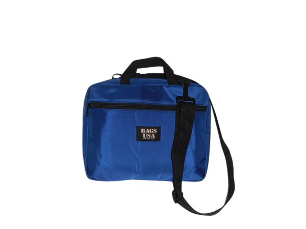"""Laptop bag fully padded,outside and inside pockets,fits 12"""" tablet Made in USA."""