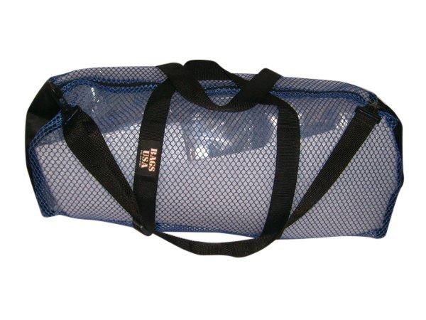 Mesh duffle Scuba gear Bag,Fins mask & Snorkel bag top quality Made in U.S.A.