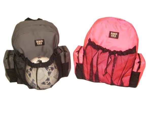Soccer equipment backpack,team sport soccer backpack.