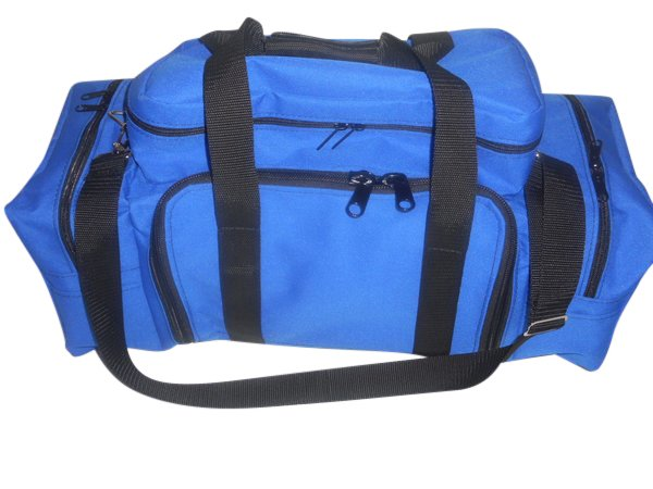 tackle fishing bag, holds 5 large trays and all your tools Made in USA