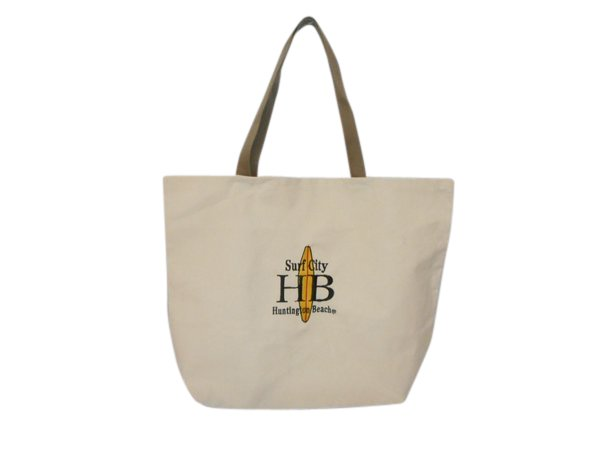 Tote bag,Surf City canvas tote for everyday use Made in USA.