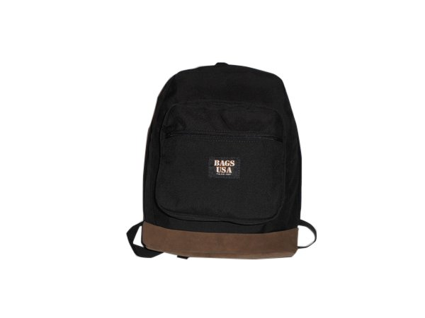 Large university backpack with suede bottom top quality made in U.S.A.