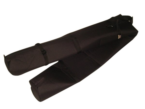 Ski bag padded,single ski bag with full length zipper Made in U.S.A.